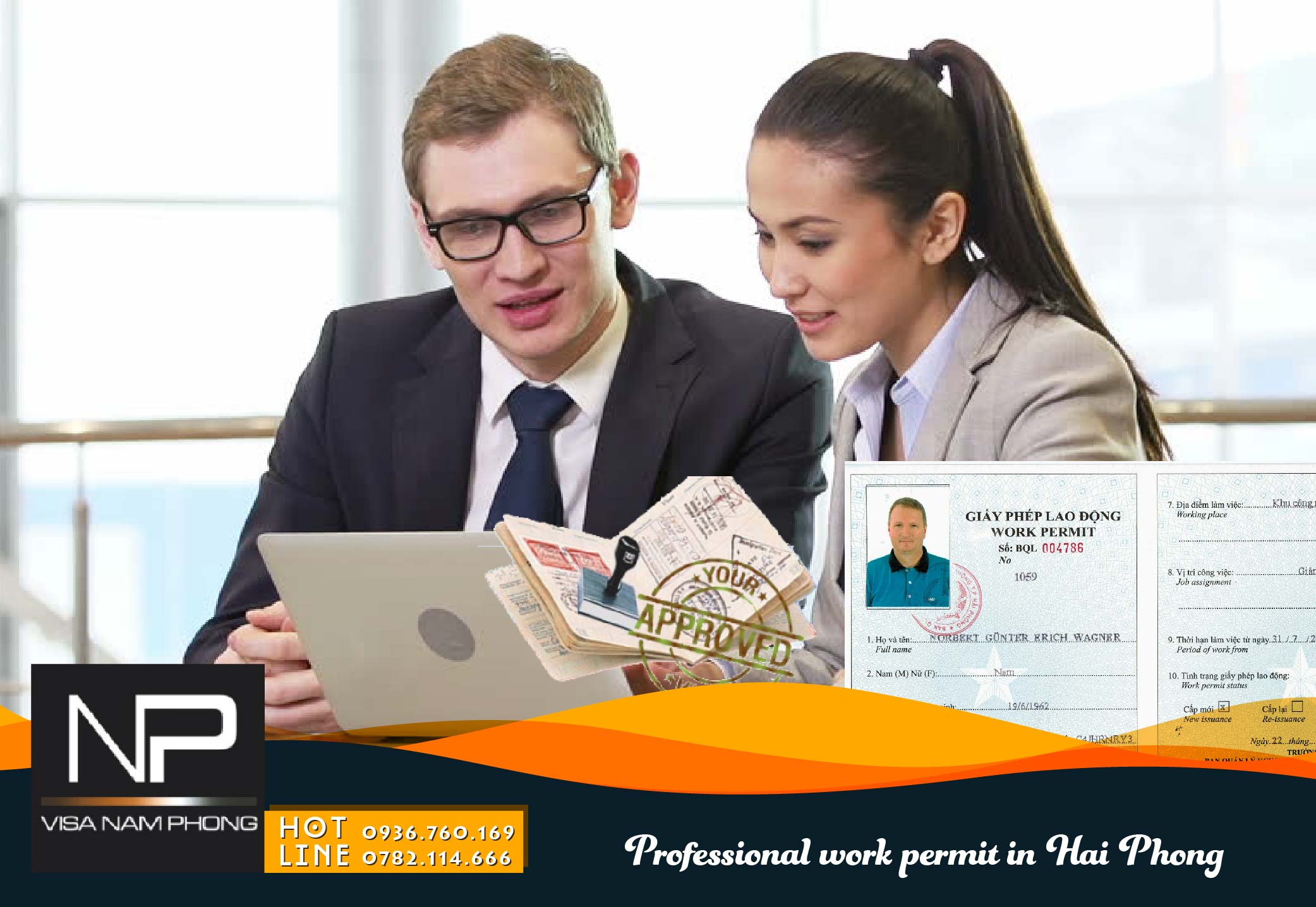 Professional work permit in Hai Phong