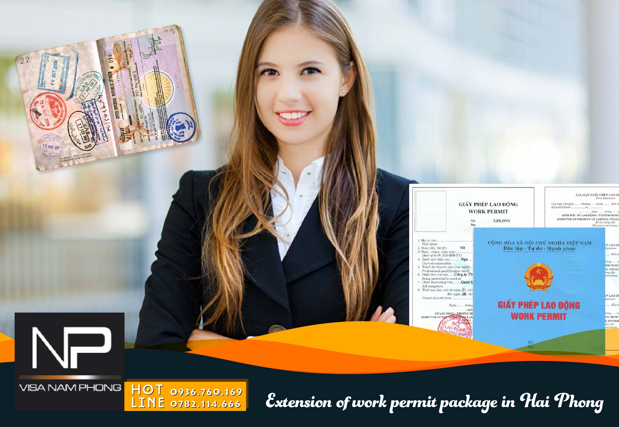 Extension of work permit package in Hai Phong